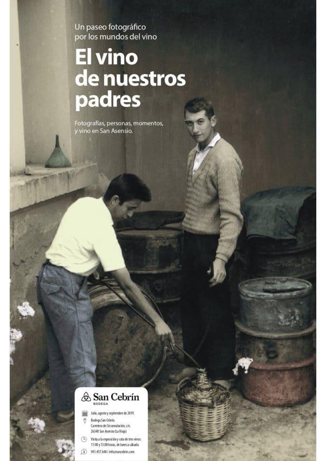Bodega San Cebrín inaugura este miércoles la exposición 'El vino de nuestros padres' 1