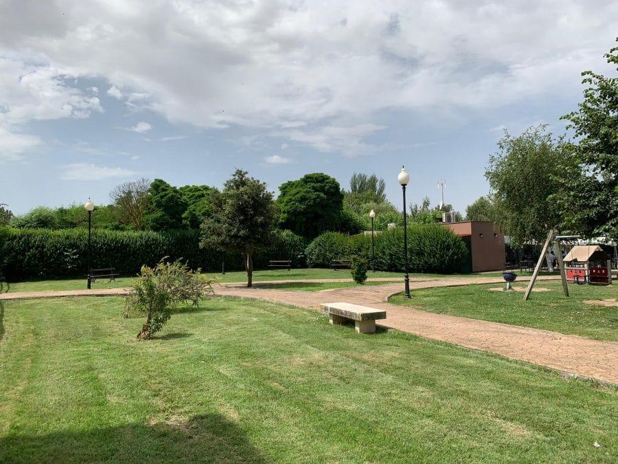 La Caixa colabora con el Ayuntamiento de Casalarreina en la instalación de un parque saludable 1
