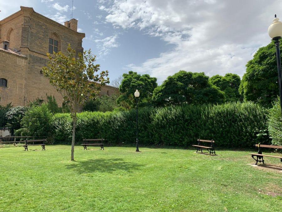 La Caixa colabora con el Ayuntamiento de Casalarreina en la instalación de un parque saludable 2