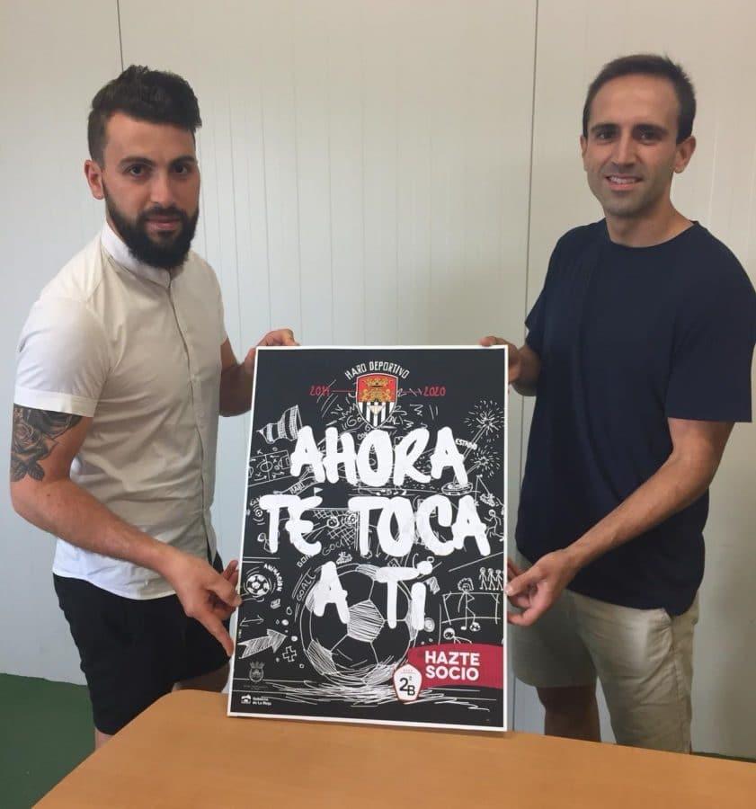 El Haro Deportivo inicia la pretemporada y anuncia el regreso de Aimar 2