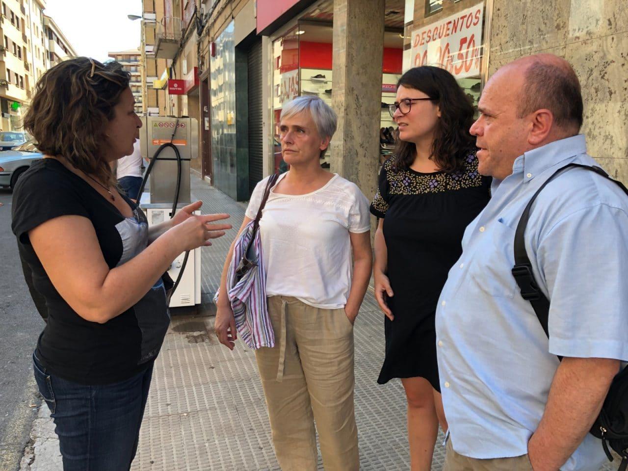 Unidas Podemos trasladará las reivindicaciones de la Asociación 'Gasolinera fuera del centro de Haro' al Parlamento 1