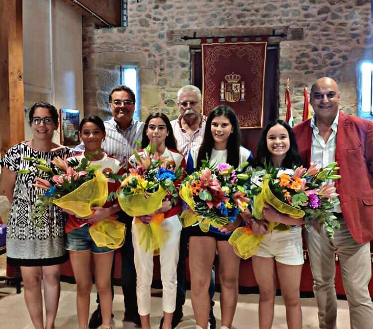 Homenaje en Santo Domingo a las campeonas de España de pelota femenina 5