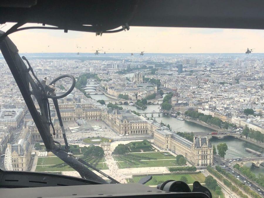 Helicópteros del batallón BHELMA III participarán por primera vez en la Fiesta Nacional Francesa 2