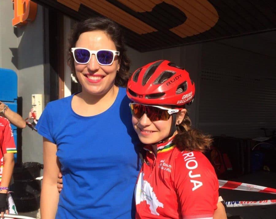 María López se rompe la clavícula en la última vuelta del Campeonato de España Escolar de Ciclismo 2