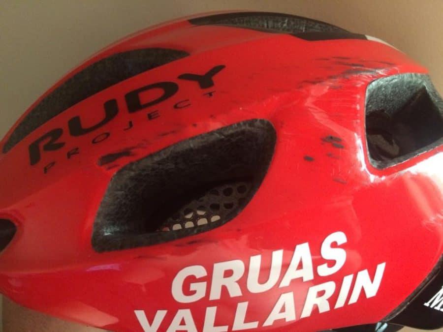 María López se rompe la clavícula en la última vuelta del Campeonato de España Escolar de Ciclismo 4