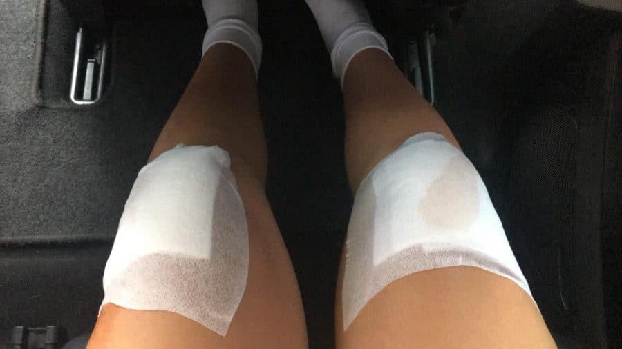 María López se rompe la clavícula en la última vuelta del Campeonato de España Escolar de Ciclismo 6