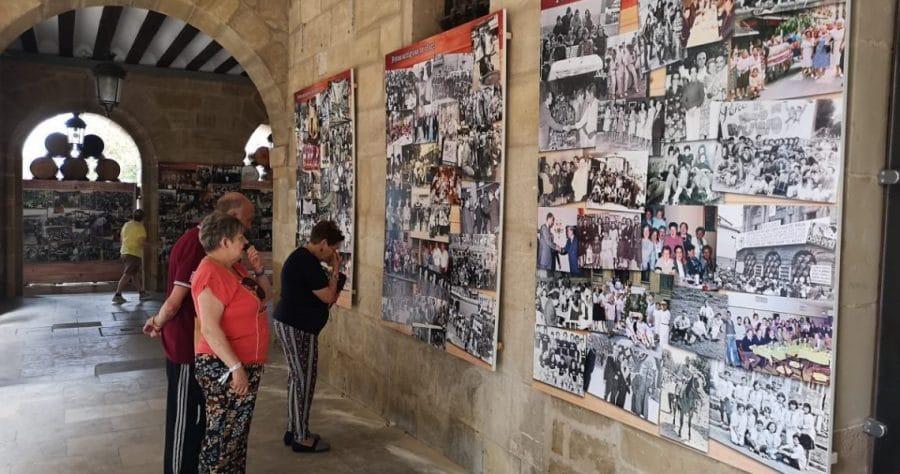 El Ayuntamiento de Haro instala tres nuevos paneles de fotografías antiguas de la ciudad 1