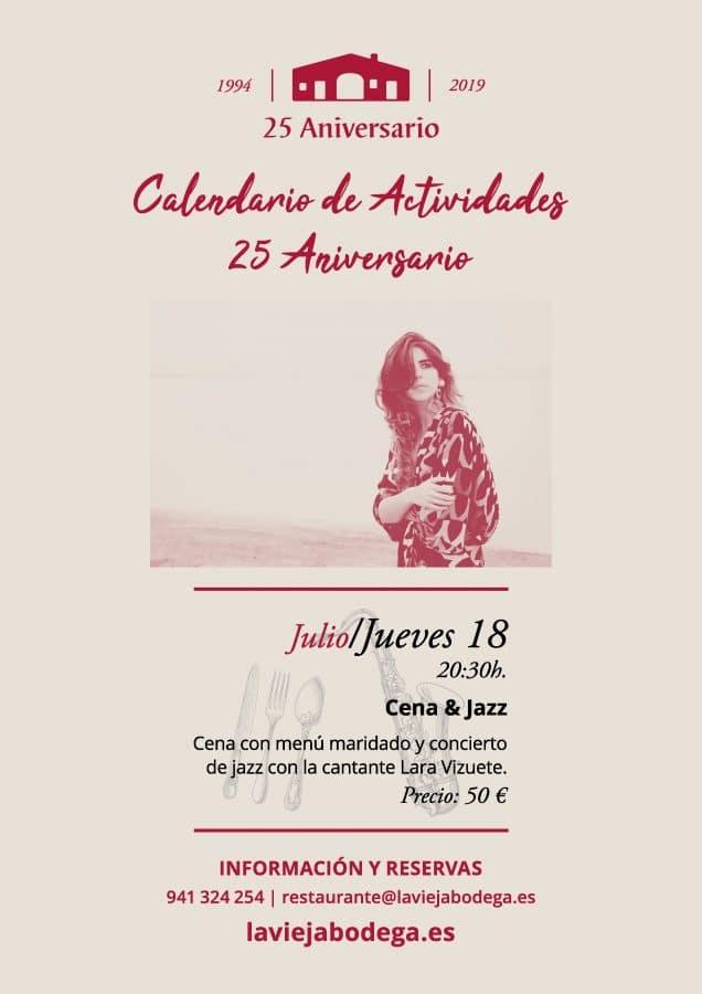 Los actos para celebrar los 25 años de La Vieja Bodega 1