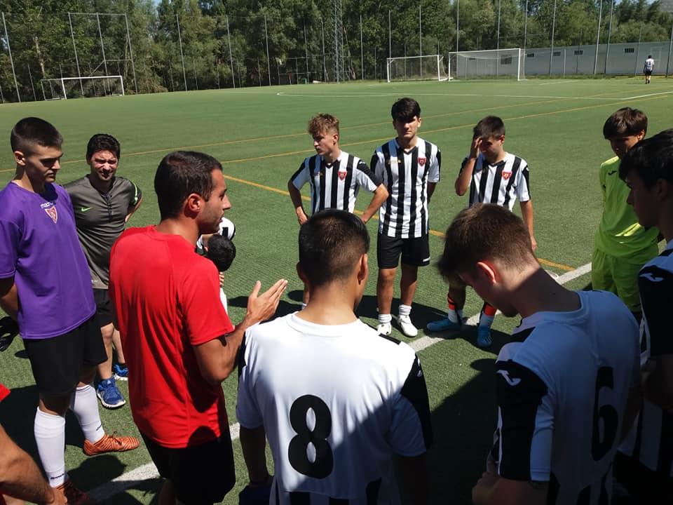 Adrián Aguilera se hace cargo del Juvenil Nacional del Haro Sport Club 1