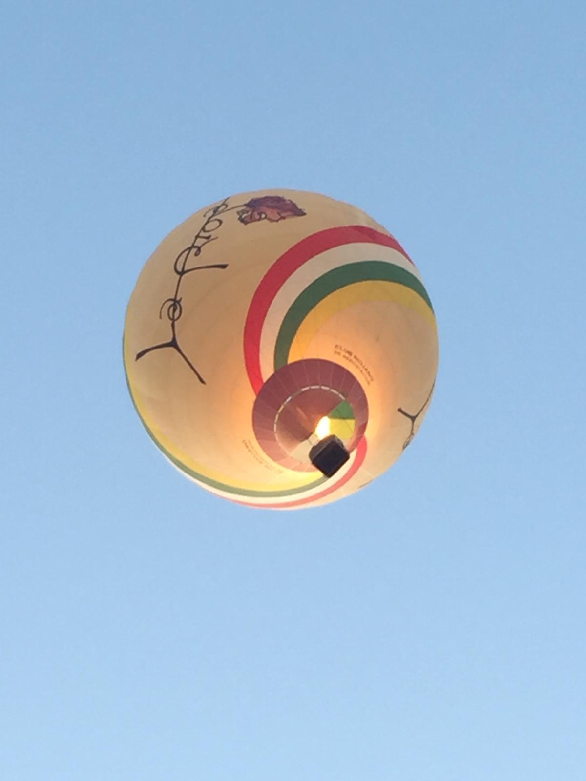 Iván Ayala alza en Toledo un nuevo Campeonato de España de Aerostación 1