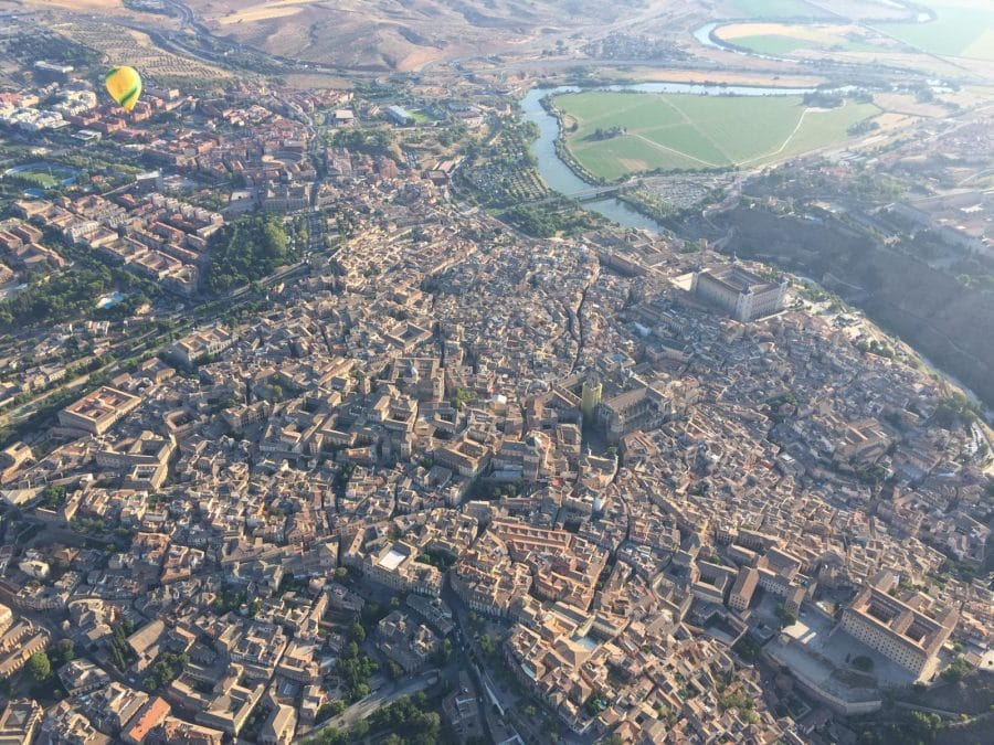 Iván Ayala alza en Toledo un nuevo Campeonato de España de Aerostación 2