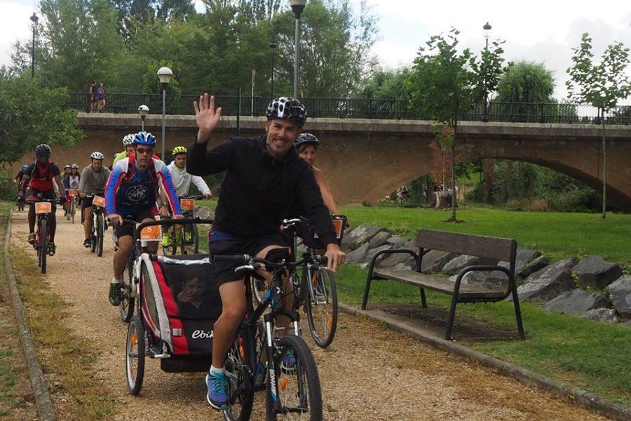 Anguciana y Casalarreina fomentan el uso de la bicicleta en una jornada especial 2