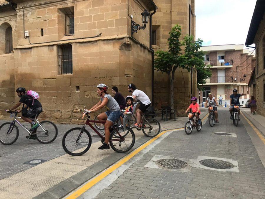 Anguciana y Casalarreina fomentan el uso de la bicicleta en una jornada especial 3