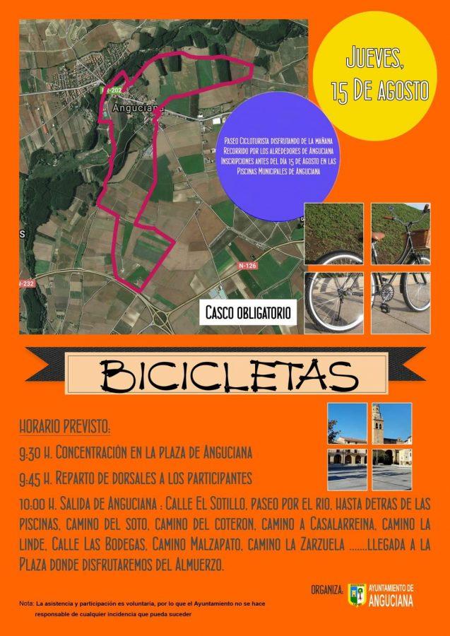 Las bicicletas sí que son para el verano en La Rioja Alta 2