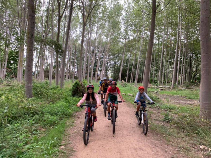 Anguciana y Casalarreina fomentan el uso de la bicicleta en una jornada especial 8