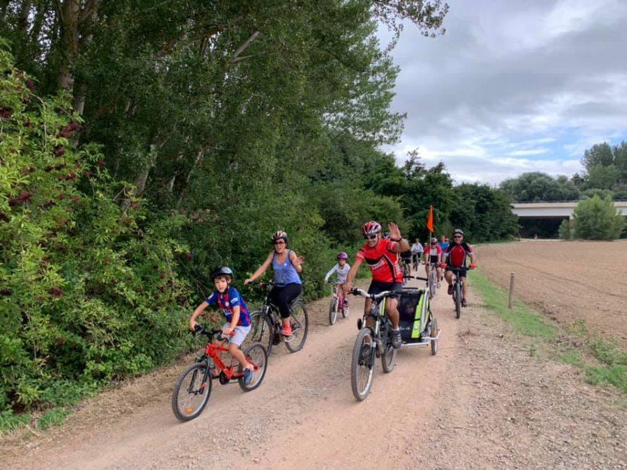 Anguciana y Casalarreina fomentan el uso de la bicicleta en una jornada especial 12