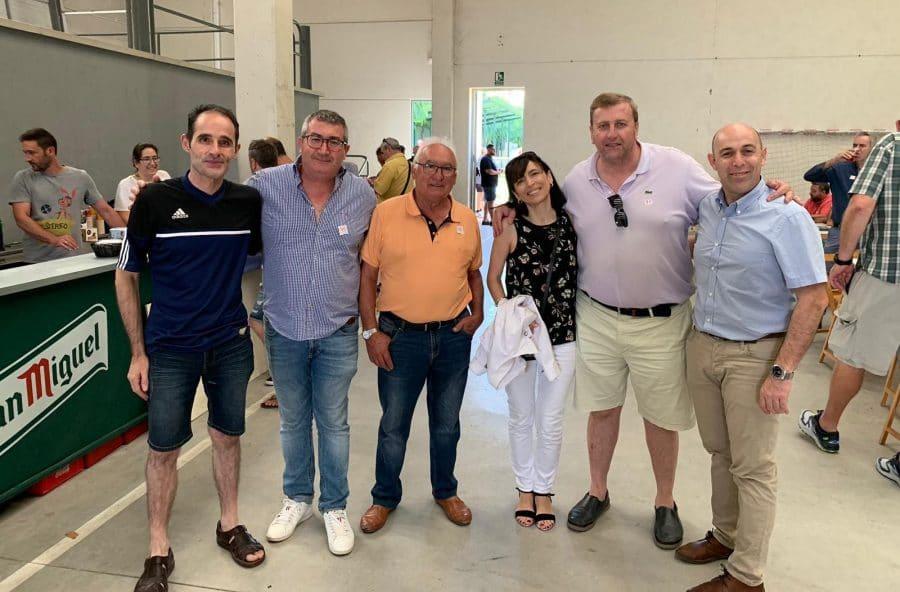 Félix Aguirre y Juan Fernández, ases del mus en Casalarreina 10