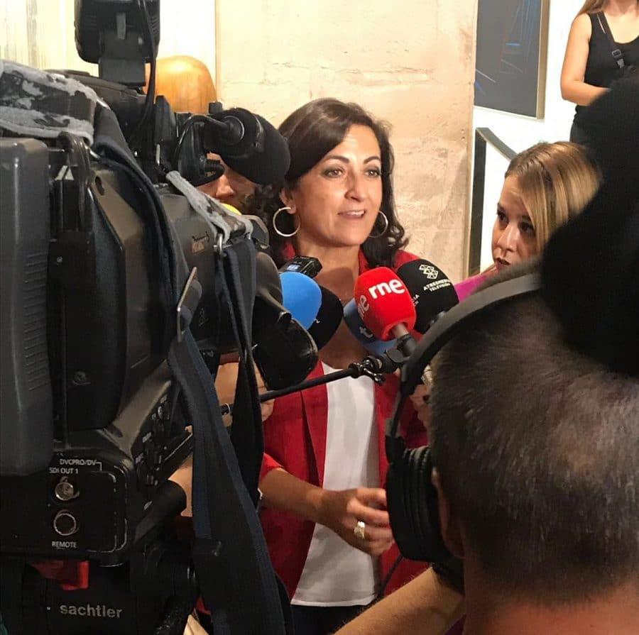 Concha Andreu, primera presidenta de La Rioja, tomará posesión este jueves 1