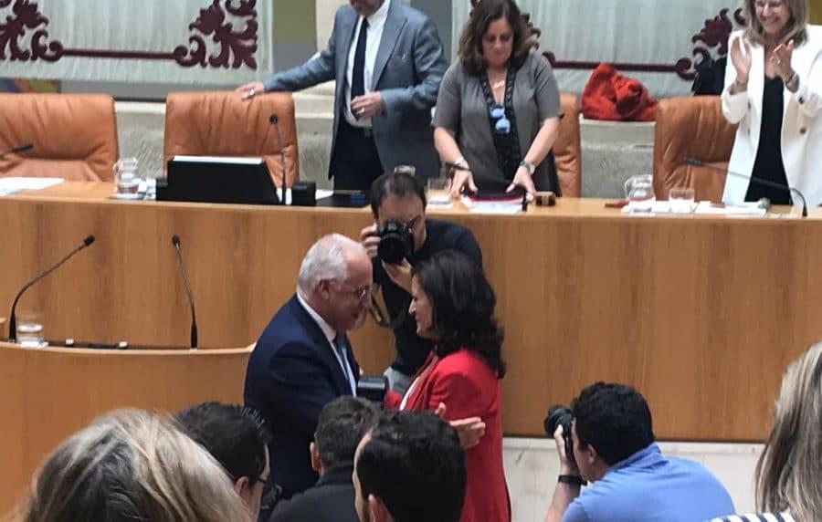 Concha Andreu, primera presidenta de La Rioja, tomará posesión este jueves 2