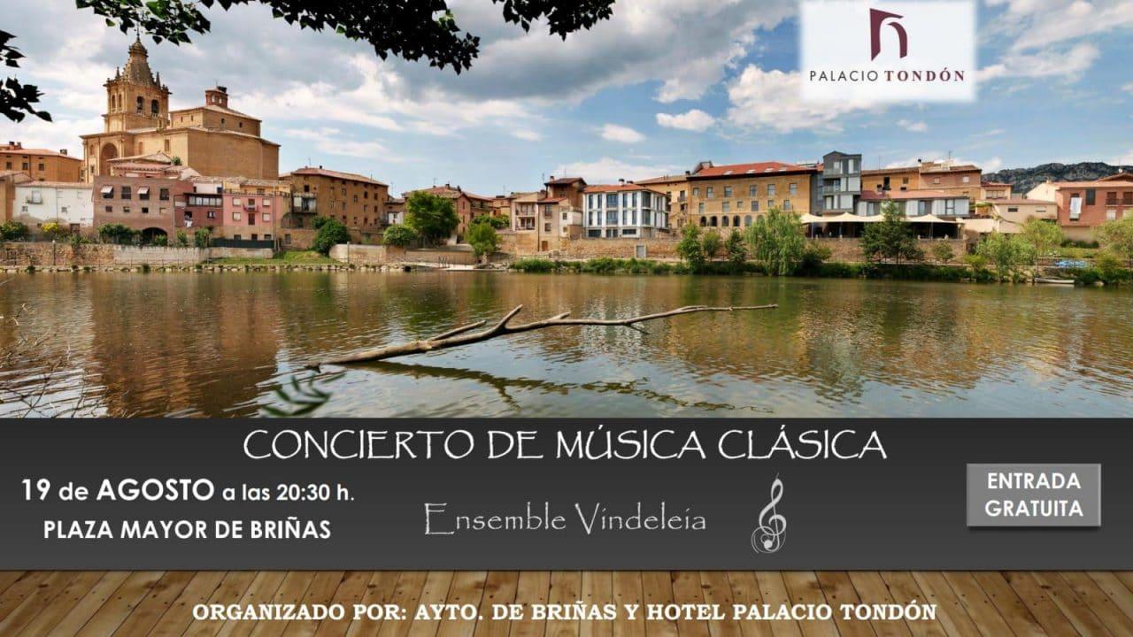 La música de Ensemble Vindeleia volverá a resonar en La Rioja Alta 1