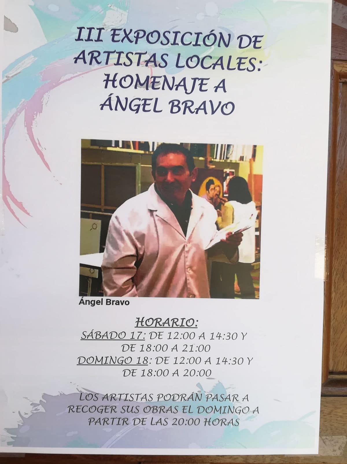 Castañares acoge una exposición de artesanía y manualidades en homenaje a Ángel Bravo 1
