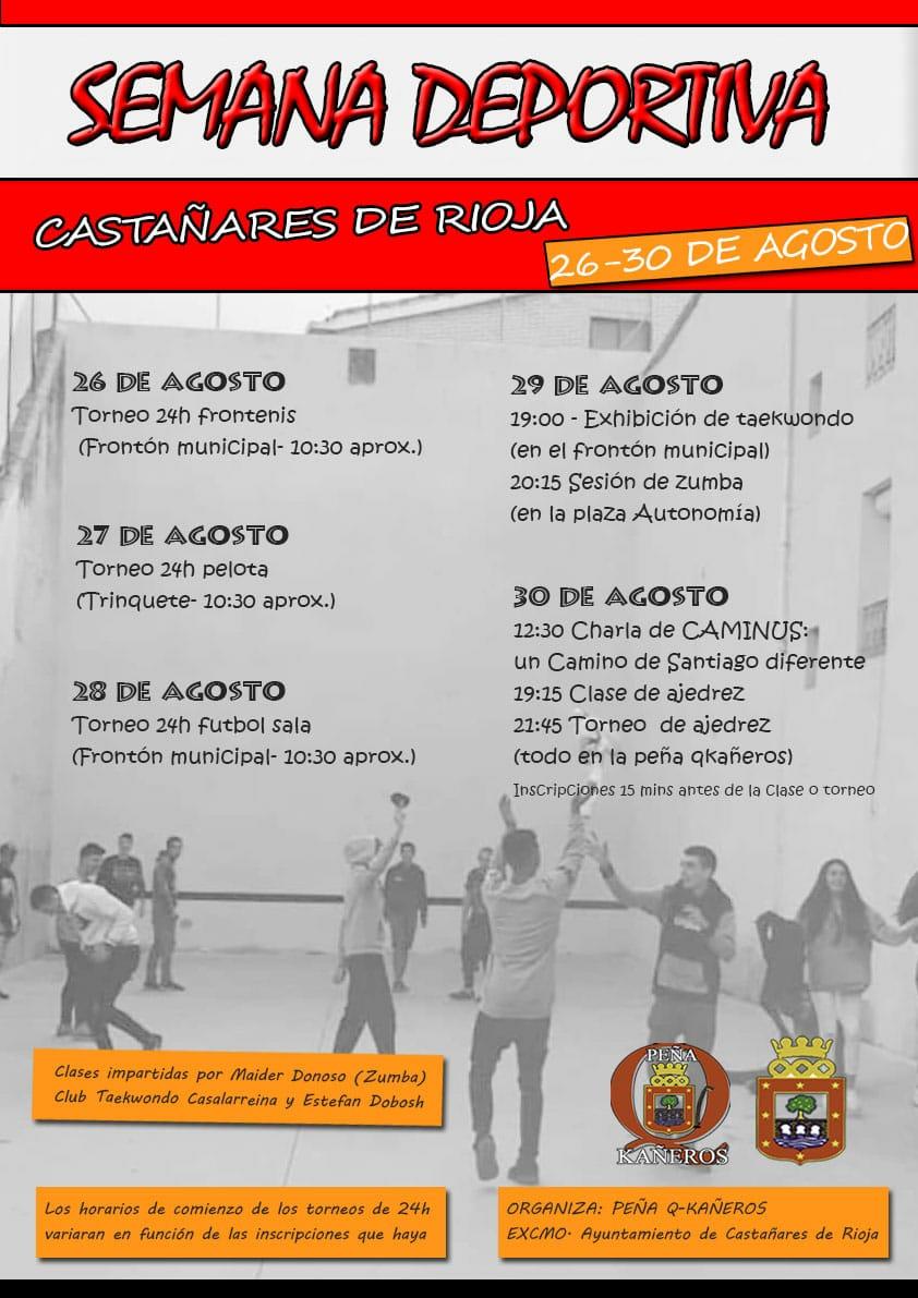 Castañares de Rioja disfruta de su semana deportiva 2