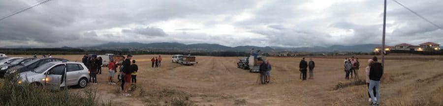 """Arranca la Regata Internacional de Globos Aerostáticos: """"Sobrevolamos La Rioja más Alta"""" 16"""