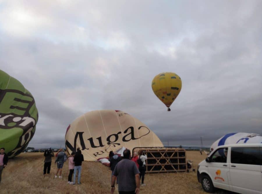 """Arranca la Regata Internacional de Globos Aerostáticos: """"Sobrevolamos La Rioja más Alta"""" 22"""
