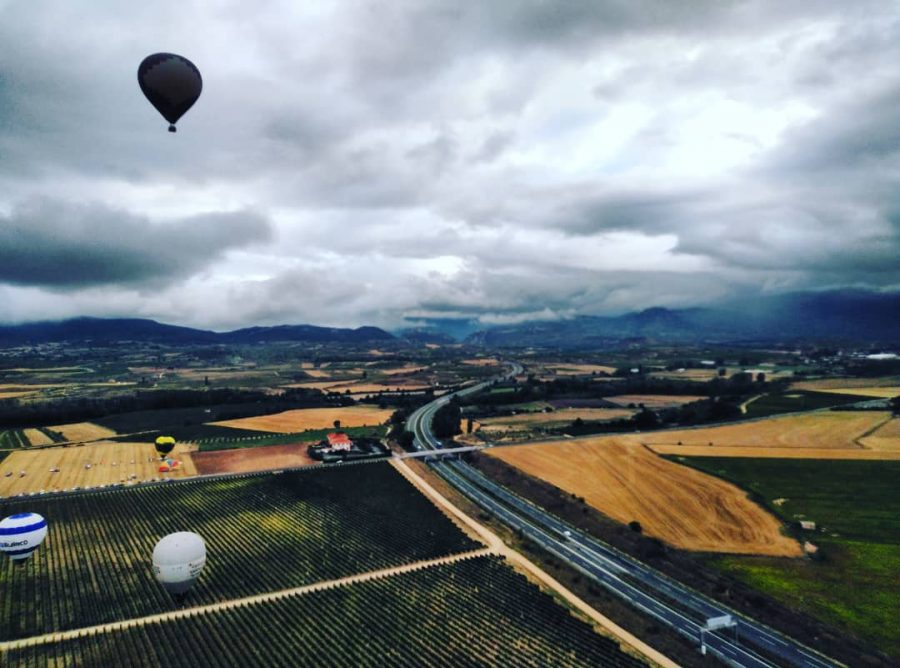 """Arranca la Regata Internacional de Globos Aerostáticos: """"Sobrevolamos La Rioja más Alta"""" 25"""
