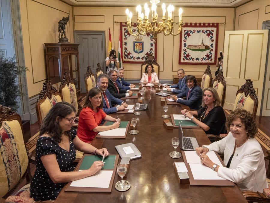 Andreu no ve en peligro el pacto de Gobierno en el Ayuntamiento de Haro 2
