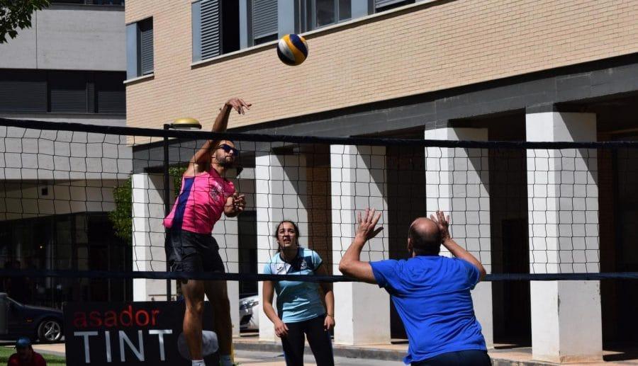 FOTOS: Voleibol a pie de calle en Haro 4
