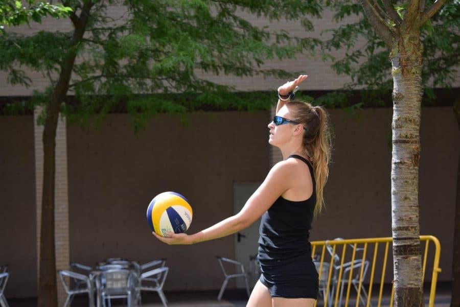 FOTOS: Voleibol a pie de calle en Haro 10