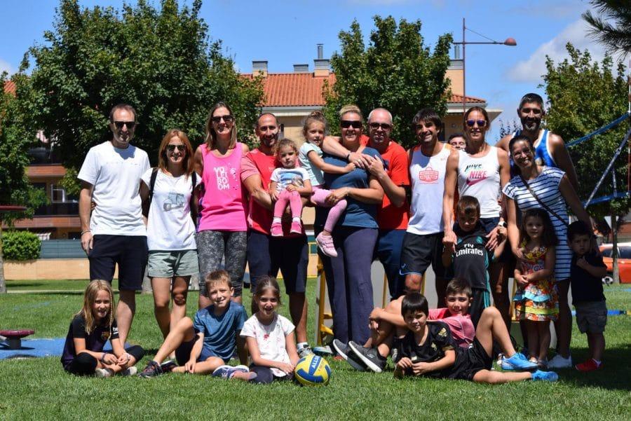 FOTOS: Voleibol a pie de calle en Haro 6