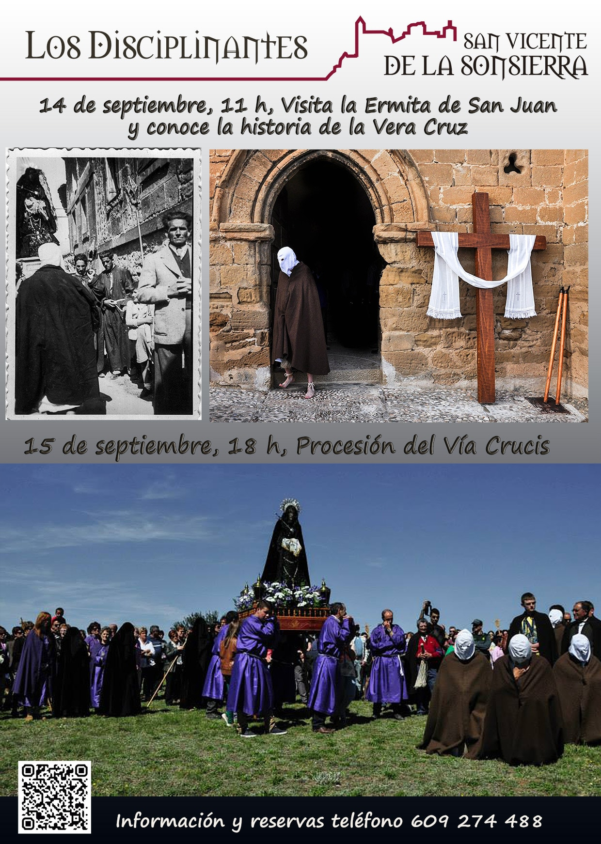Los Picaos de San Vicente de la Sonsierra vuelven a salir en procesión el 15 de septiembre 1