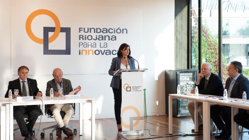 """Andreu quiere que La Rioja lleve """"la innovación por bandera"""" 1"""