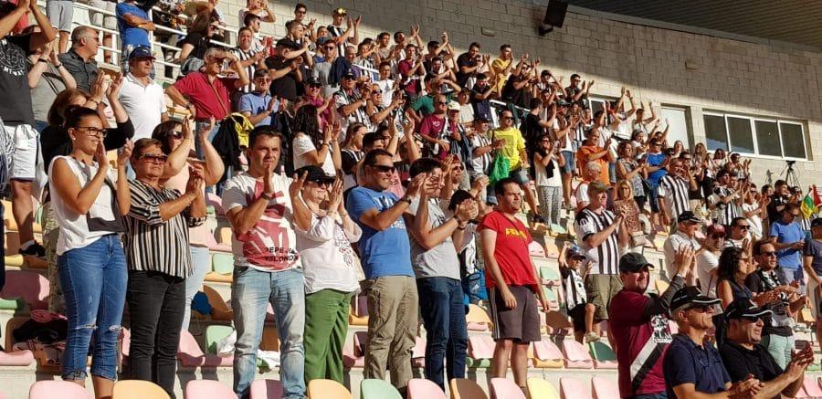 El Burgos CF arranca un punto ante el Haro con diez jugadores 16