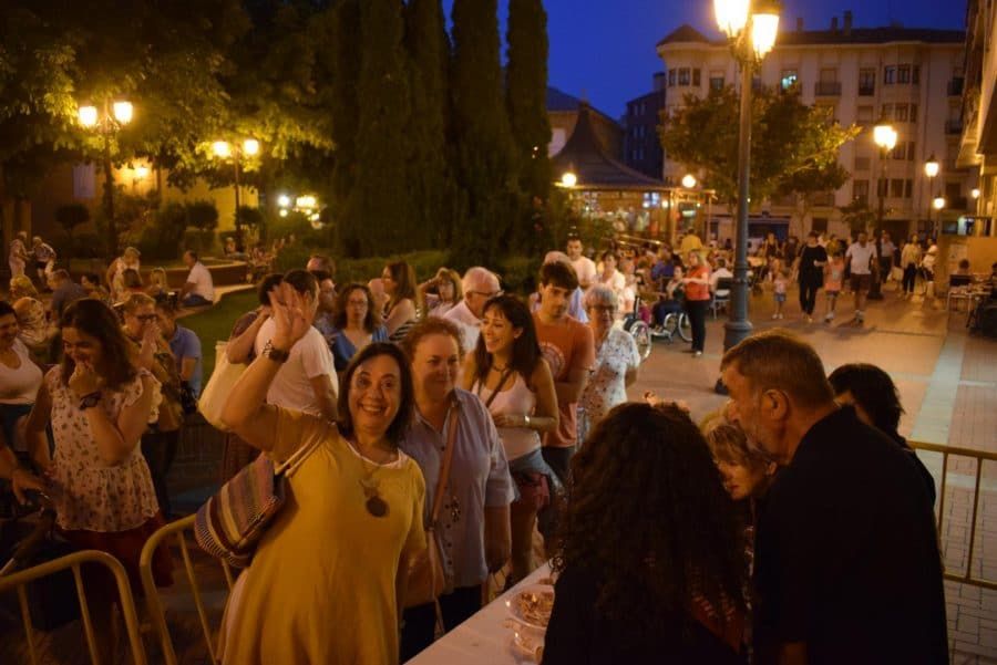 El Barrio de las Huertas cierra sus fiestas con una concurrida comida de hermandad 6