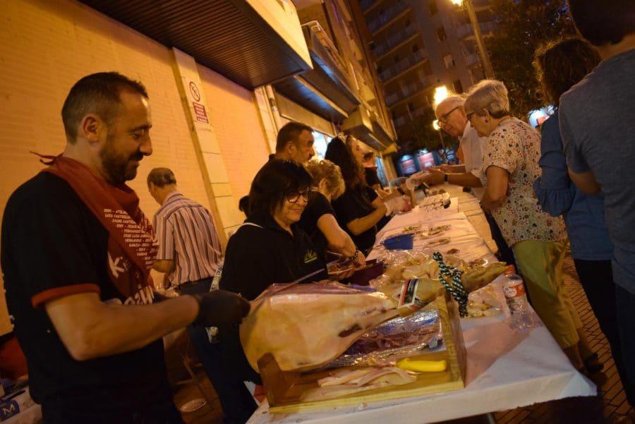 El Barrio de las Huertas cierra sus fiestas con una concurrida comida de hermandad 7