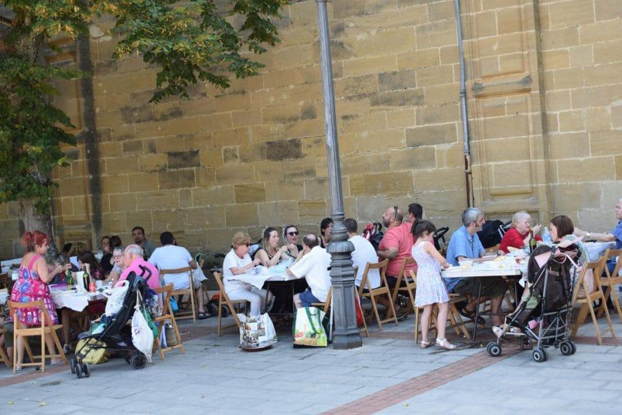 El Barrio de las Huertas cierra sus fiestas con una concurrida comida de hermandad 2