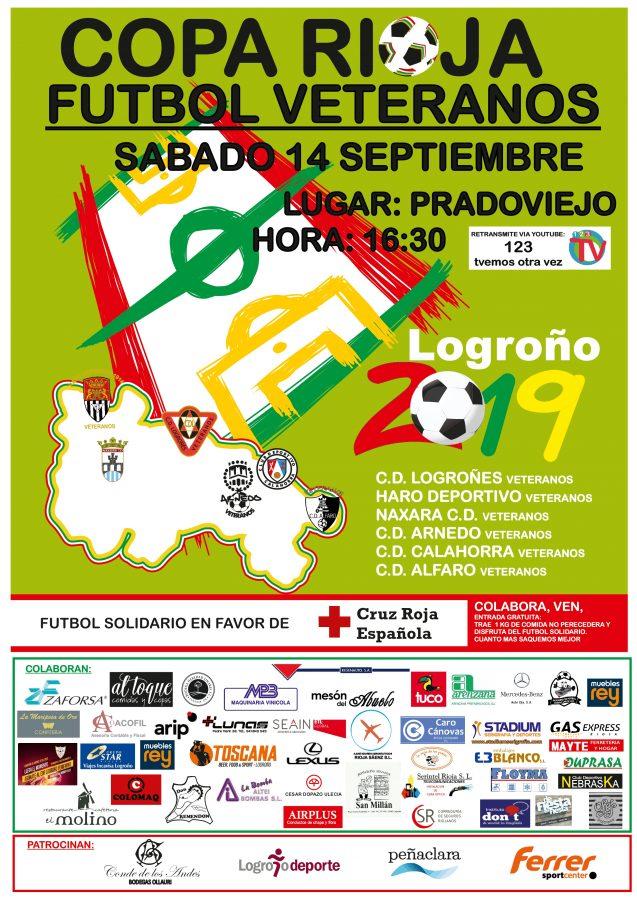 Los Veteranos del Haro Deportivo participarán en la nueva edición solidaria de la Copa Rioja 1