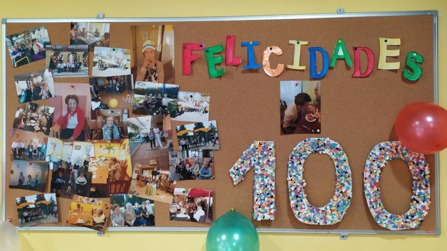 Pilar Porres celebra su cien cumpleaños en el Hogar Madre de Dios 5