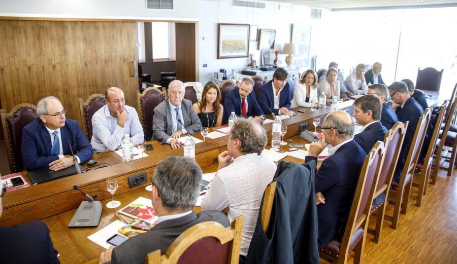 Una delegación de Champagne visita Rioja 1
