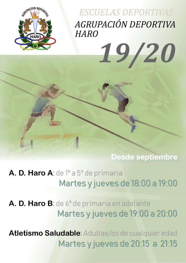 La AD Haro inicia la actividad de sus escuelas deportivas 1