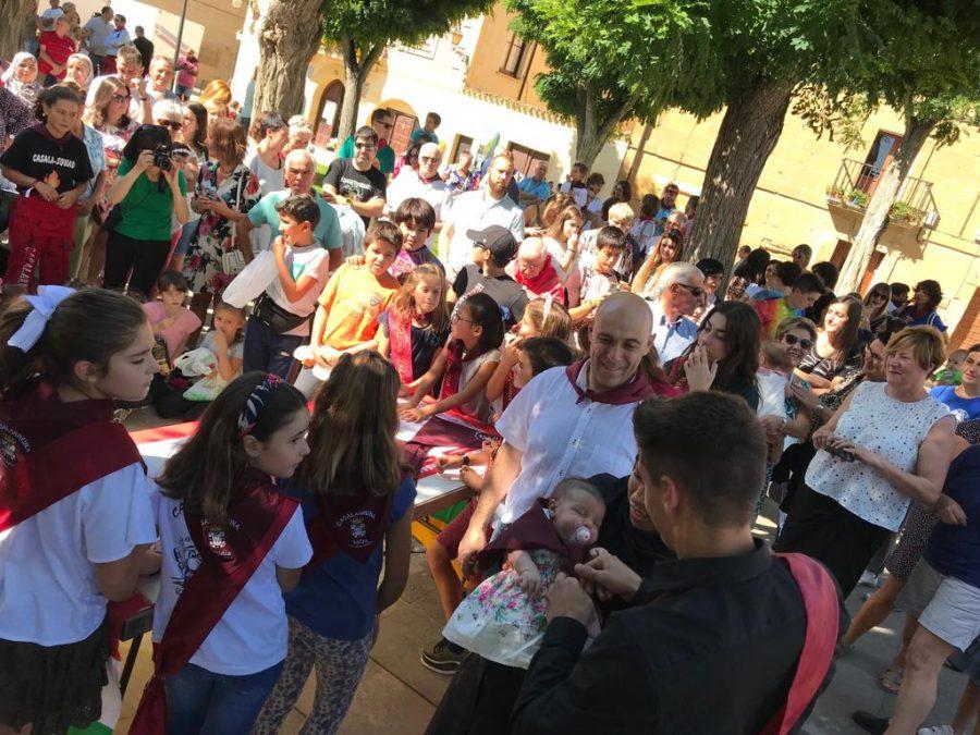 """Casalarreina se entrega a la fiesta: """"¡Viva la Virgen del Campo!"""" 5"""