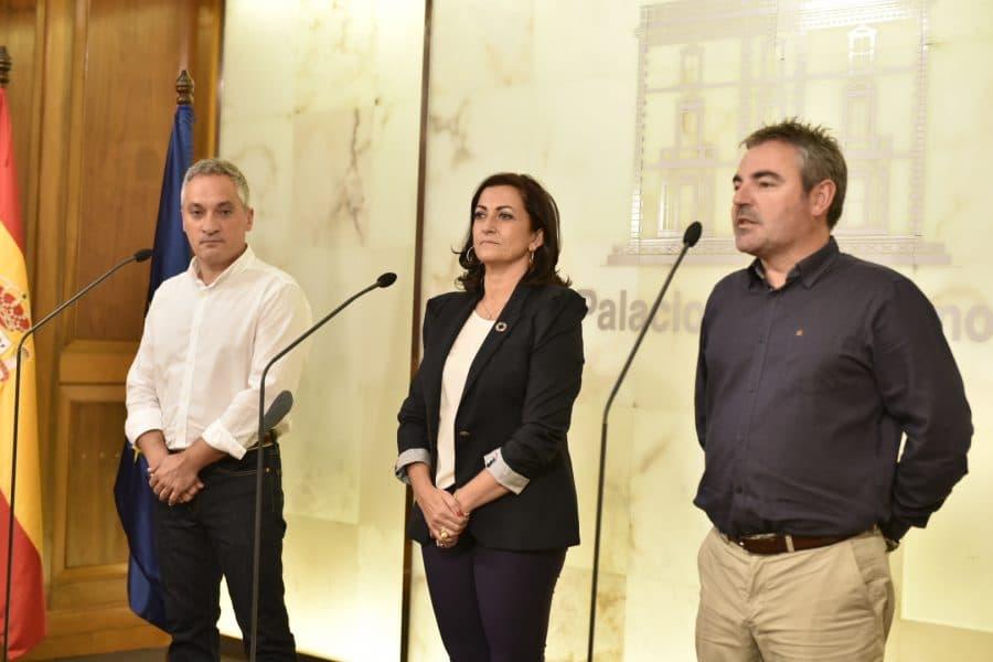 """Andreu, Izquierdo y Ruano apuestan por el diálogo social como """"valor clave"""" para el avance de La Rioja 1"""