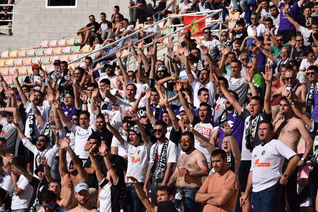 El Burgos CF arranca un punto ante el Haro con diez jugadores 2