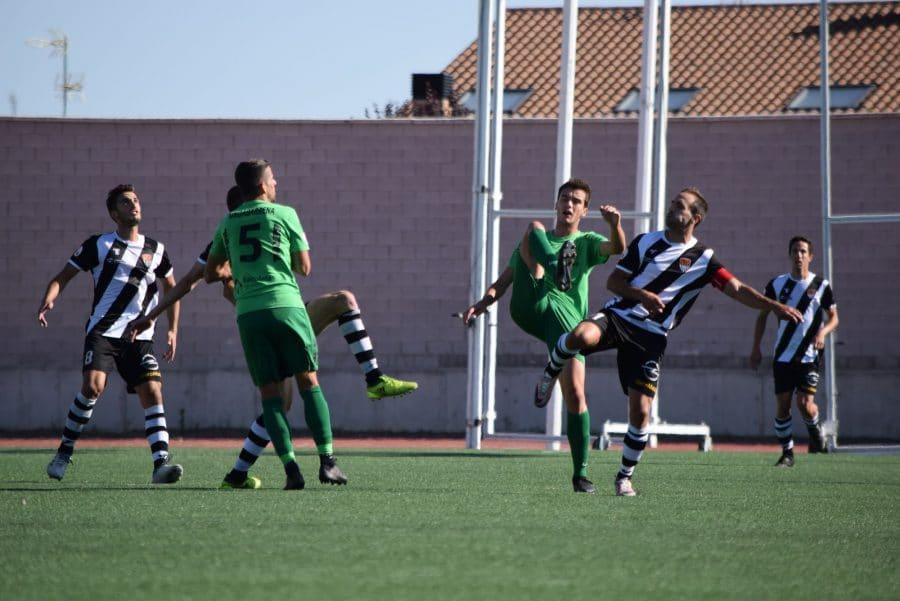 El Burgos CF arranca un punto ante el Haro con diez jugadores 10