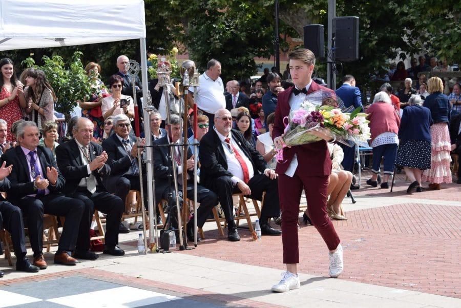 Haro se echa a la calle para honrar con flores a la Virgen de la Vega 68
