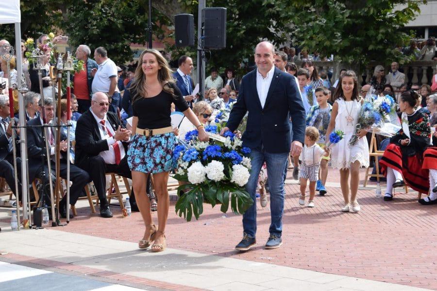 Haro se echa a la calle para honrar con flores a la Virgen de la Vega 72