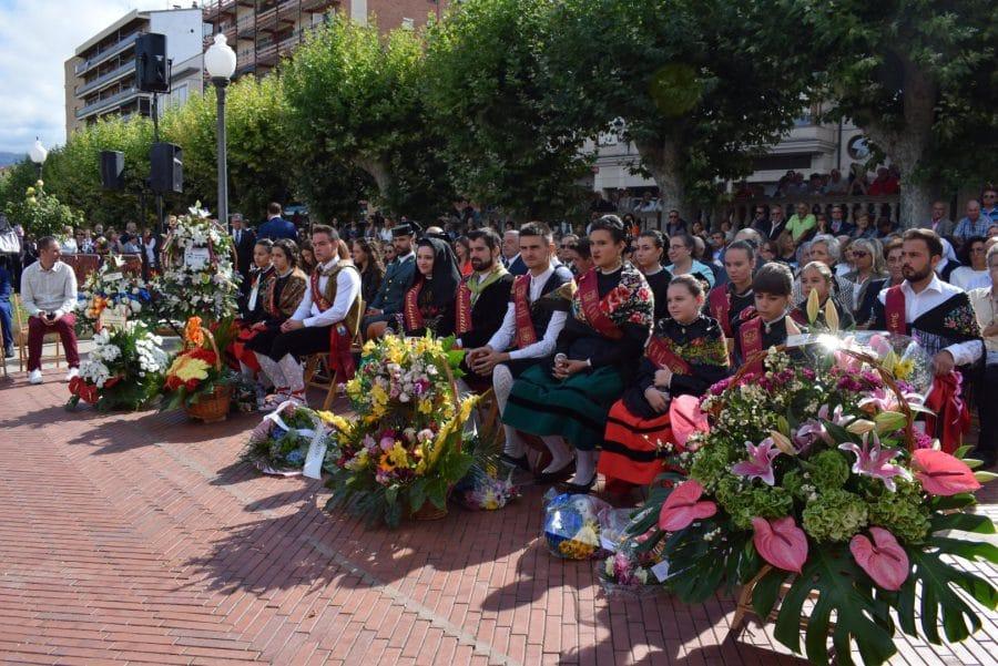 Haro se echa a la calle para honrar con flores a la Virgen de la Vega 19